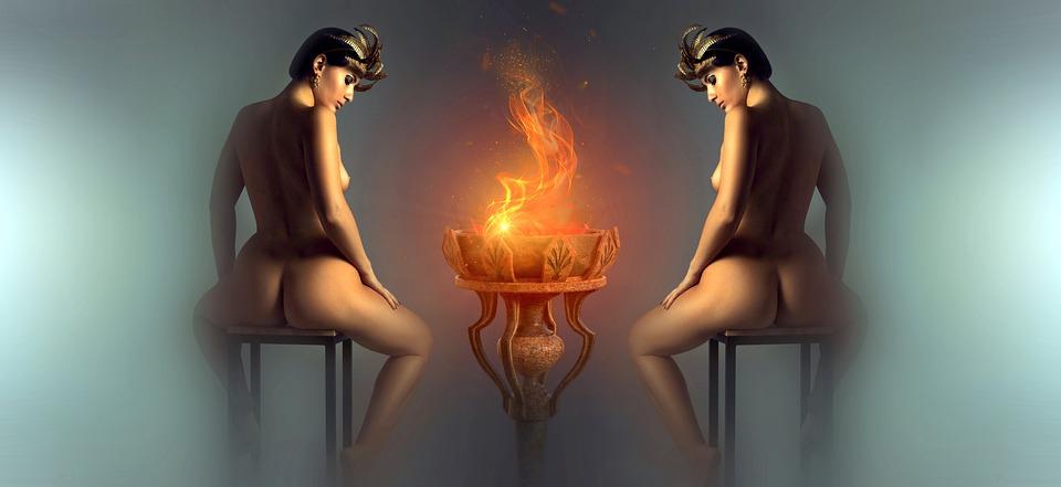ženy u ohně