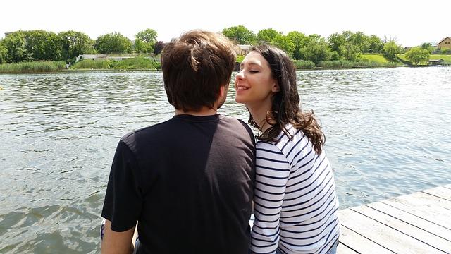 láska u jezera