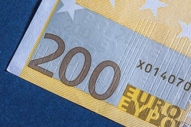 200 euro – detail