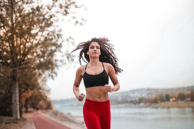Sportující žena